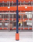 Pies de estanterías para estanterías industriales en Barcelona